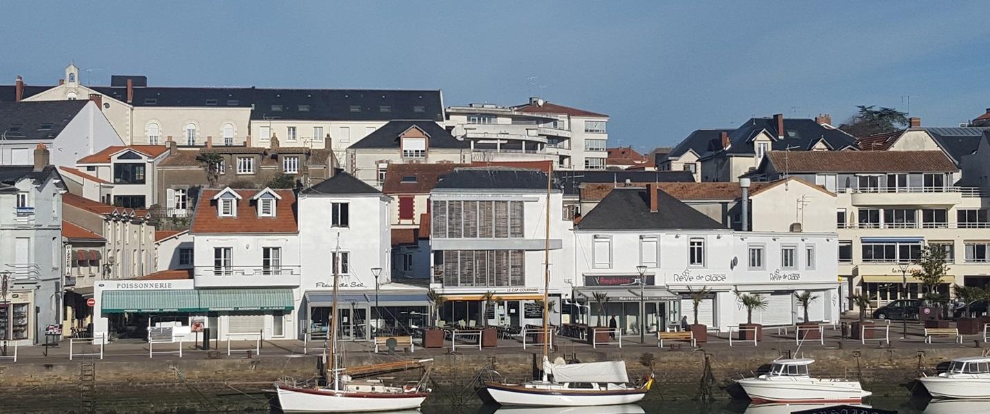 Immeuble sur le port